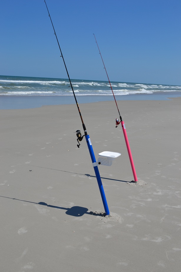 Big Rod Beach Shore And Surf Fishing Rod Holder Aughog