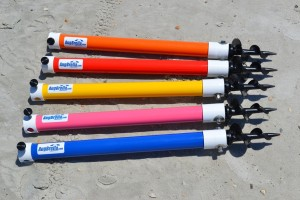 AugBrella Shorty colors at beach