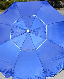Beach Umbrella Solid Blue Patio Umbrella