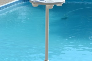 Pool and Patio Umbrella Table