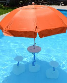 Relaxation-Station-Pool-Umbrella-Table-and-seats